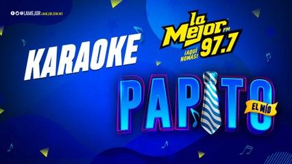 Cuando yo quería ser grande - Karaoke La Mejor
