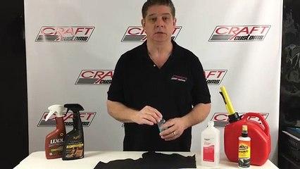 بالفيديو: لا تستخدم هذه المواد في تطهير سيارتك من الداخل