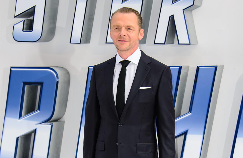 Simon Pegg's alcoholism battle was a 'private hell'