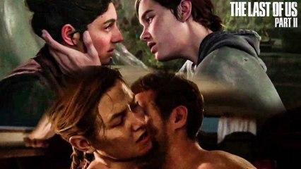 The Last of US 2 - All Romance Scenes (All Cutscenes)