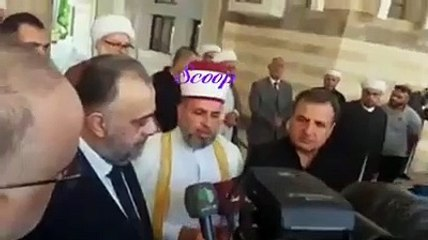 رسالة من مشايخ النظام لبشار الاسد نحن معك في جوعنا وحصارنا