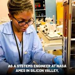 Les visages de la Diaspora : Reine Dominique Ntone, Une carriere prometeuse à la NASA