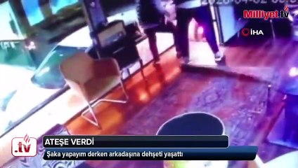 بسبب مزحة.. شاب ينتقم من صديقه بإسطنبول عبر حرقه بالوقود