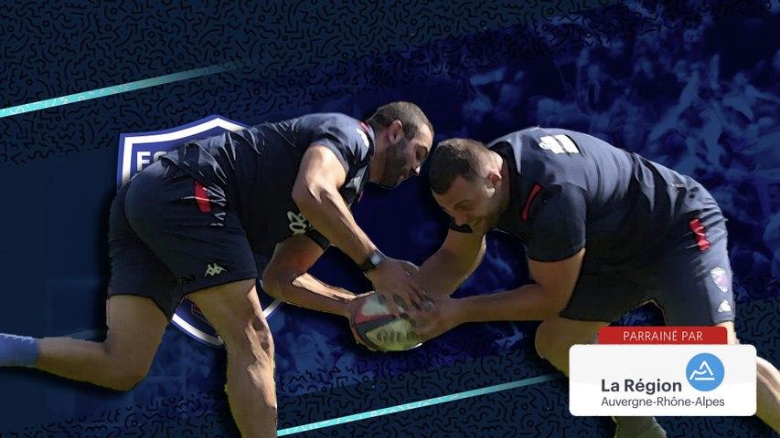 Rugby : Video - Exercice de duel au sol