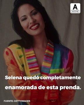 El icónico vestido morado de Selena Quintanilla