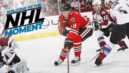 Welcome to the NHL Moment: Jonathan Toews