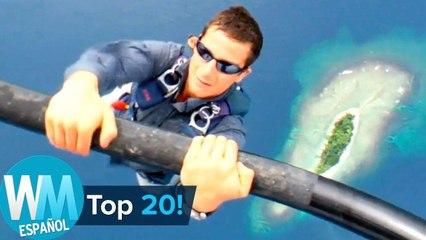 Top 20 Momentos más LOCOS de Bear Grylls