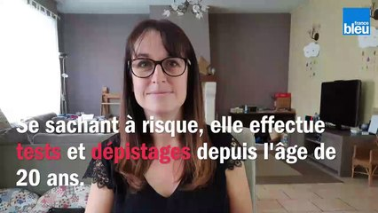 Sabrina Durieux, 39 ans, incite les femmes à se faire dépister régulièrement