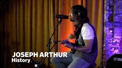 "Dailymotion Elevate: Joseph Arthur - ""History"" live at Cafe Bohemia, NYC"