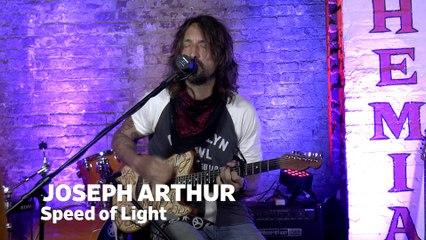 "Dailymotion Elevate: Joseph Arthur - ""Speed of Light"" live at Cafe Bohemia, NYC"