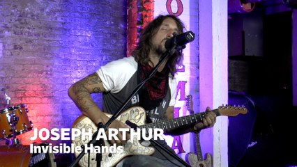 """Dailymotion Elevate: Joseph Arthur - """"Invisible Hands"""" live at Cafe Bohemia, NYC"""