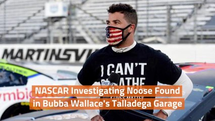 A Noose In Bubba Wallace's Garage