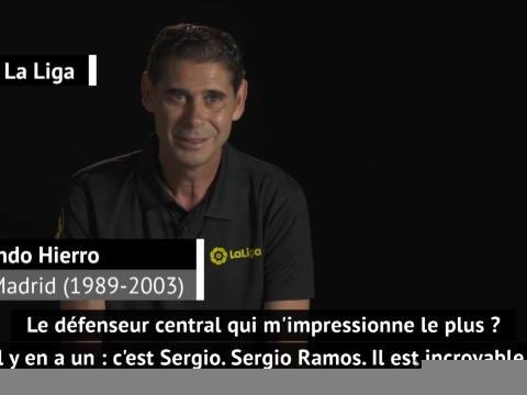"""31e j. - Hierro : """"Le nombre de buts inscrits par Sergio Ramos n'est quasiment pas normal !"""""""