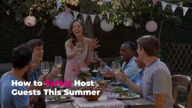 How to Safely Host Guests This Summer