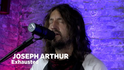 """Dailymotion Elevate: Joseph Arthur - """"Exhausted"""" live at Cafe Bohemia, NYC"""
