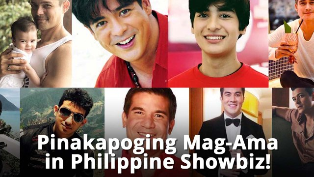 10 Pinakapoging Mag-Ama in Philippine Showbiz