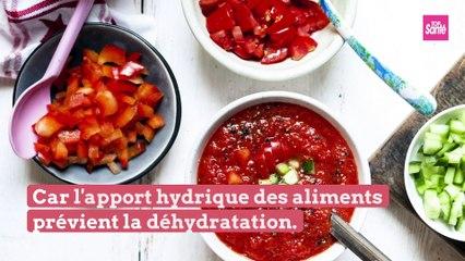 Qu'est-ce qu'on mange pour mieux résister à la chaleur ?