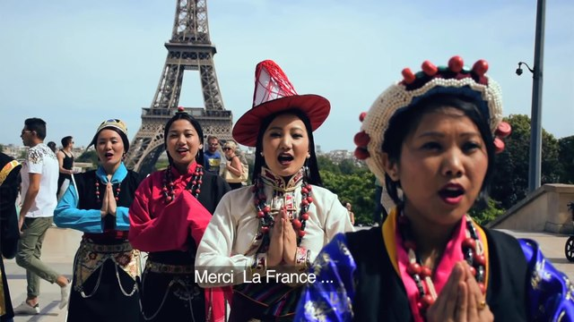 Tibet. Merci La France(Thank You France), Tibetan Songs & Dance, Protest, Tibet Panel Discussion, Part 1, 23 Jun 20