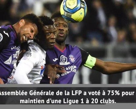 Ligue 1 - La LFP vote pour une Ligue 1 à 20 clubs