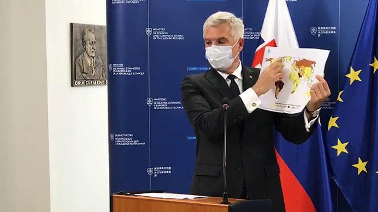 ZÁZNAM: TK ministra zahraničných vecí Ivana Korčoka