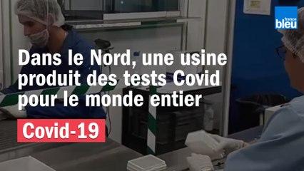 À Steenvoorde, l'usine BioRad produit des tests Covid pour le monde entier