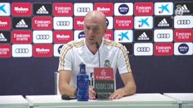 """31e j. - Zidane : """"Personne ne nous enlèvera les belles choses que l'on fait sur le terrain"""""""