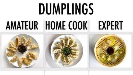 4 Levels of Dumplings: Amateur to Food Scientist