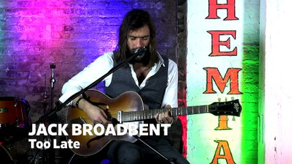 """Dailymotion Elevate: Jack Broadbent - """"Too Late"""" live at Cafe Bohemia, NYC"""