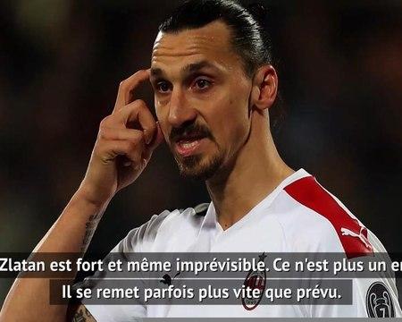 """Milan AC - Pioli : """"Zlatan se remet parfois plus vite que prévu de ses blessures"""""""