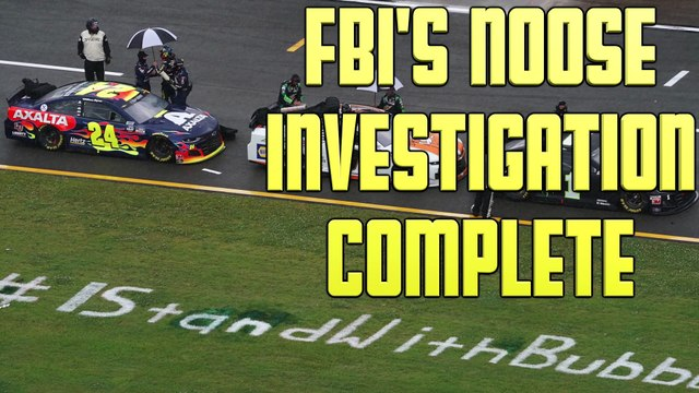 FBI Concludes Rope In Bubba Wallace's Garage Was Not Hate Crime