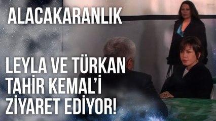 Leyla ve Türkan, Tahir Kemal'i Cezaevinde Ziyaret Ediyorlar   Alacakaranlık 37. Bölüm