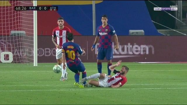 La Liga - FC Barcelone : Le mauvais geste de Messi