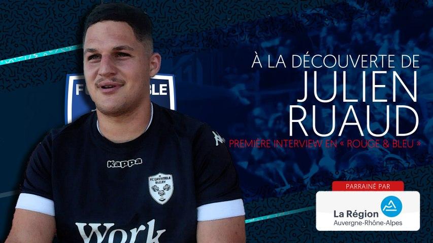 Rugby : Video - Julien Ruaud : « Trouver du temps de jeu et un bel esprit d'équipe »
