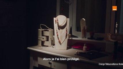 Maison Protégée - Le collier de Mamie - Orange