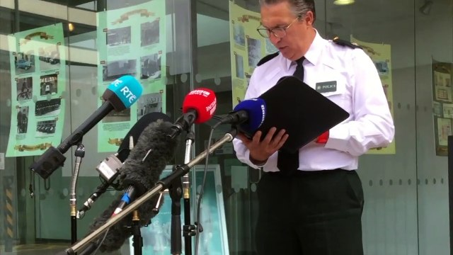 PSNI update the media on the search for missing 14 year-old Noah Donohoe