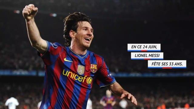 Barça - Messi, 33 ans et des records