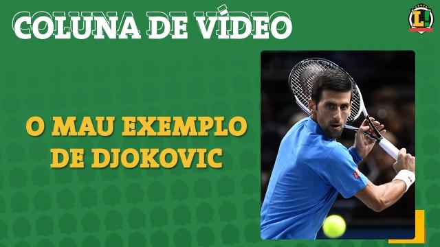 Djokovic arranha a sua imagem após ser diagnosticado com COVID-19