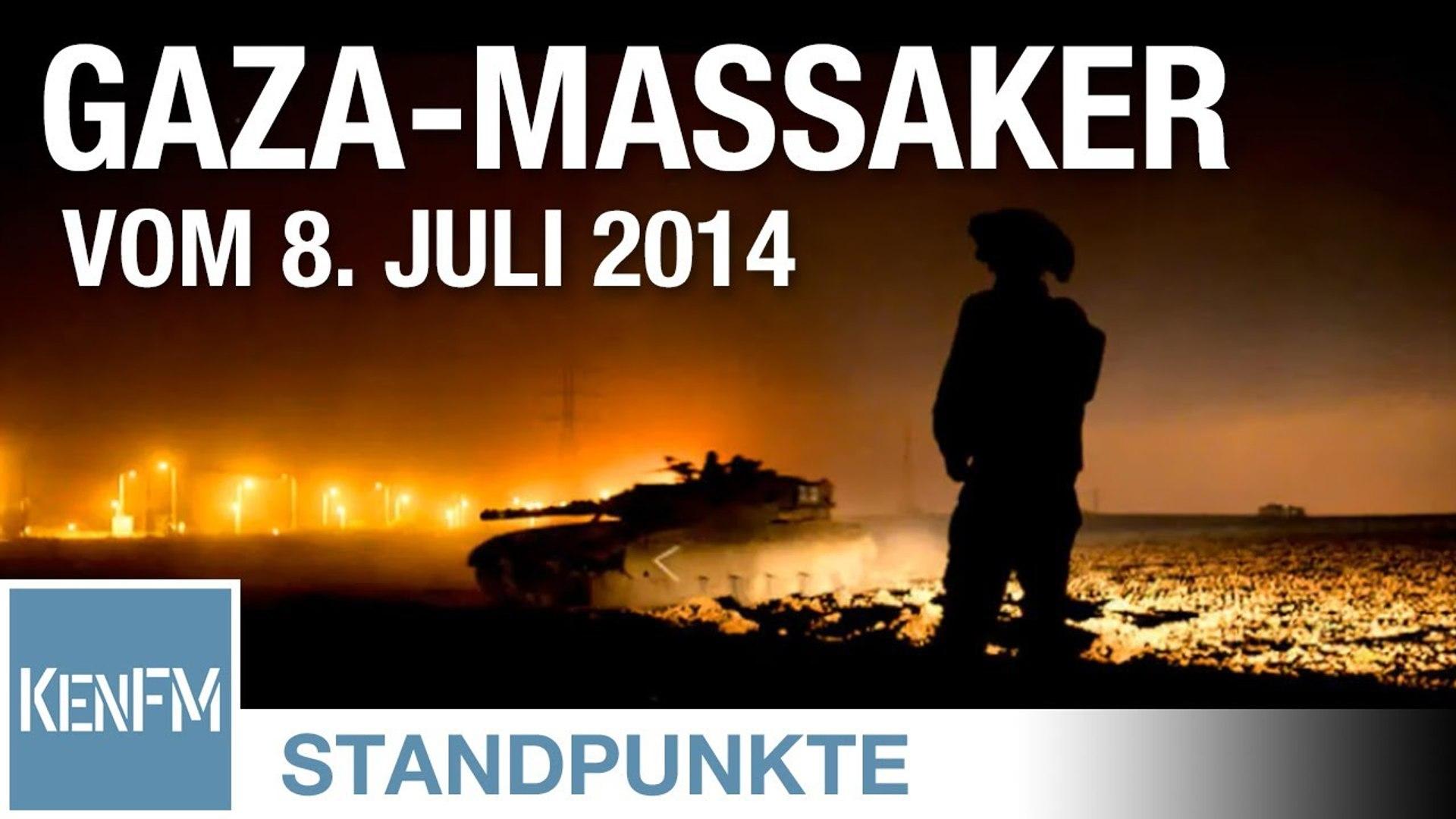 Das Gaza-Massaker vom 8. Juli 2014 I Von Jochen Mitschka