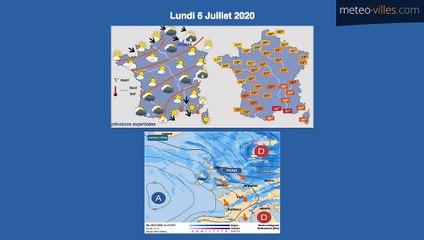 Bulletin Météo du 03 07 2020