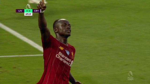 Liverpool se balade contre Crystal Palace et se rapproche un peu plus du titre !