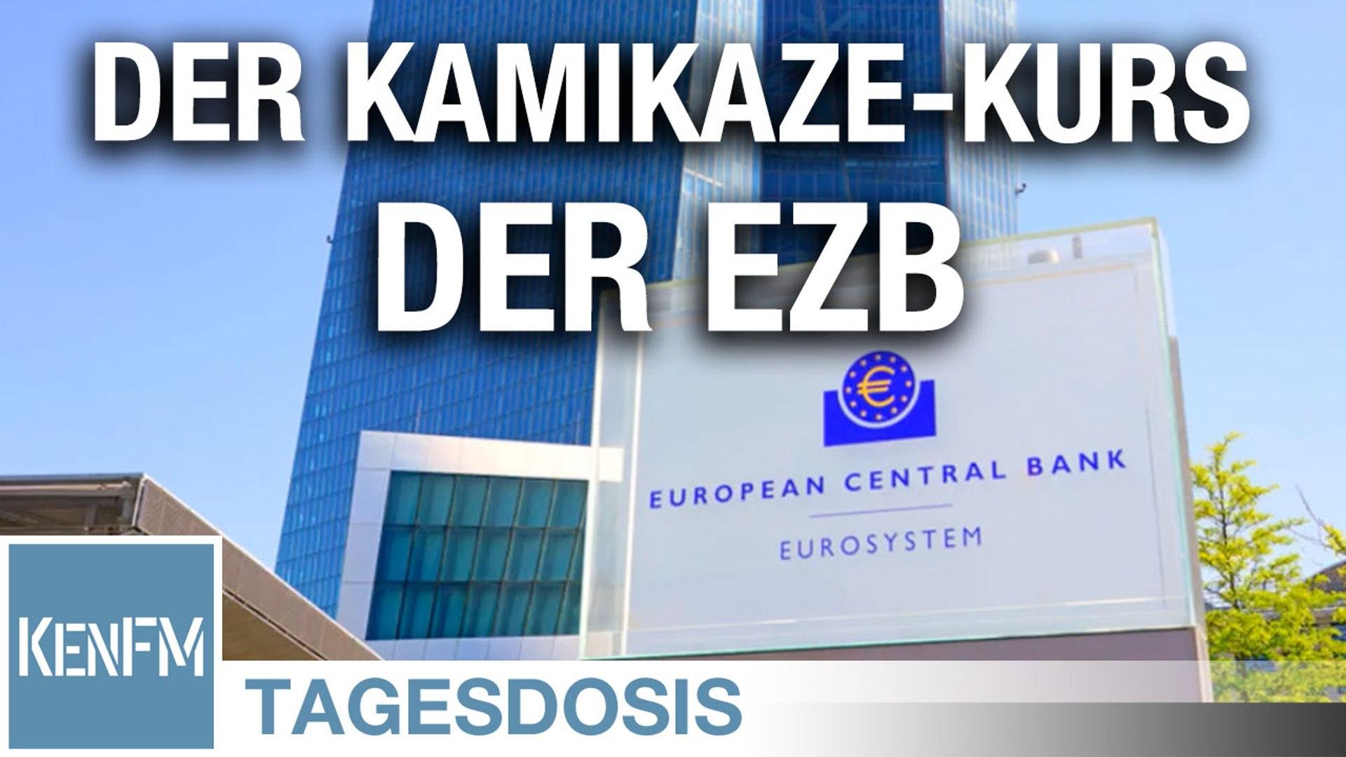 Augen zu und mitten rein! Der Kamikaze-Kurs der EZB – Tagesdosis 25.6.2020