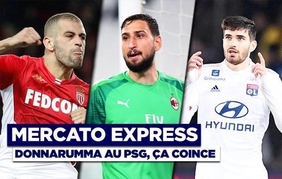 Mercato Express : Donnarumma, mauvaise nouvelle pour Paris