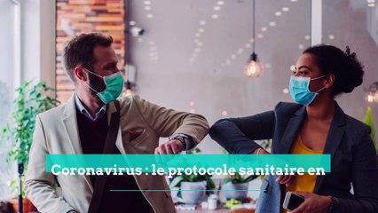 Coronavirus : le protocole sanitaire des entreprises est allégé