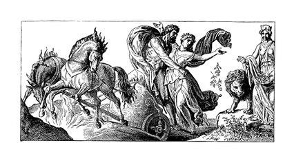 El mito de Perséfone y el origen de la primavera