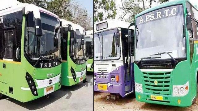 తెలుగురాష్ట్రాల మధ్య Bus సర్వీసులకు బ్రేక్.. AP లో సిటీ బస్సులకు గ్రీన్ సిగ్నల్! || Oneindia Telugu