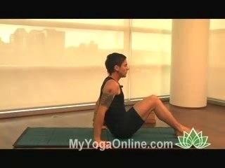 Navasana Yoga Posture (Boat Pose)
