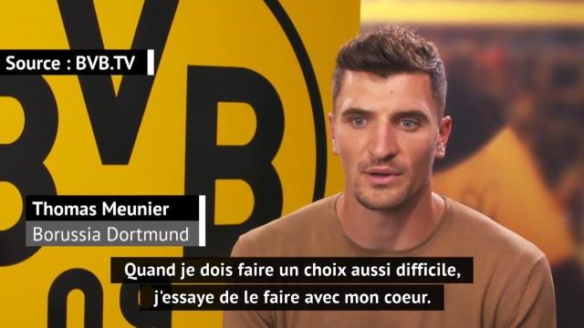 """Transferts - Meunier au Borussia Dortmund : """"Un club populaire partout dans le monde"""""""