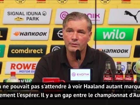 """Dortmund - Zorc : """"Haaland ? On ne pouvait pas s'attendre à le voir autant marquer"""""""