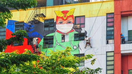 The Heartwarming Story Behind That Darna Mural