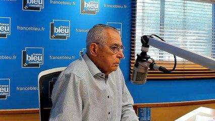 """Jean-Marc PUJOL, tête de liste """"Perpignan pour vous""""."""